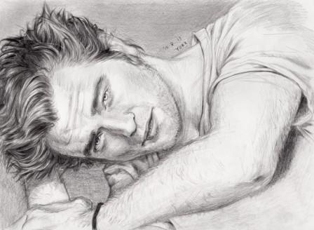 Robert Pattinson par Yuki